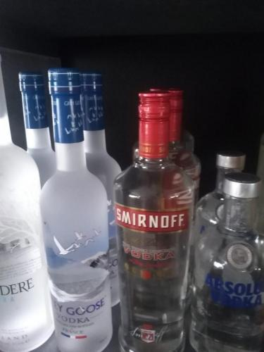 Diverse soorten wodka